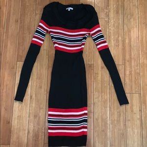 Charlotte Russe ribbed knit dress